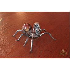 A wrought iron little spider (P-2)