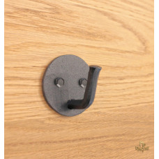 Forged round small clothes-hook (VC-20)