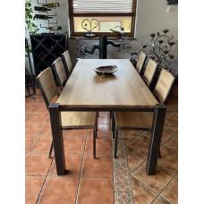 Moderná jedálenská súprava - kvalitný stôl a stoličky (NBK-53)