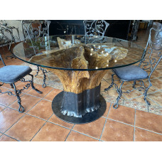 Luxury oak table - design furniture (NBK-61)