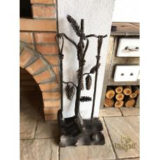Fireplace tools PINE – KK / 16