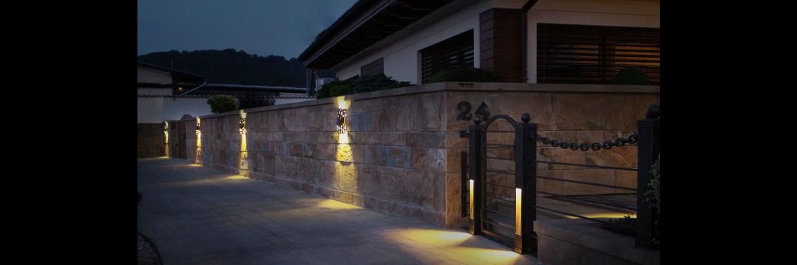 kovane lampy