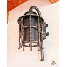 A wrought iron wall light - BABIČKA  (SE5014)