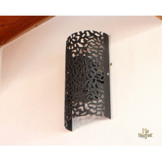 Design forged light shade with a stone pattern – wall shade (LB-78)