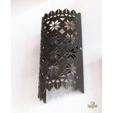 Design forged light shade with lace pattern (LB-79)
