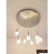 Design chandelier SPIRALS – modern pendant lighting (SI0702)