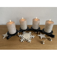 Advent forged candle holder  (SV/25)