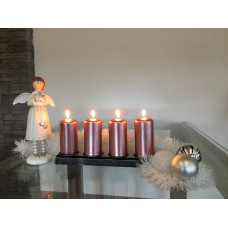 Advent forged candle holder  (SV/28)