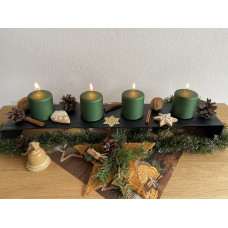 Advent forged candle holder  (SV/35)