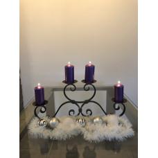Advent forged candle holder – big black (SV/22)