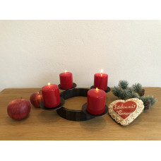 Advent forged candle holder  (SV/33)
