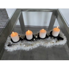 Advent forged candle holder  (SV/29)