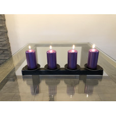 Advent forged candle holder  (SV/27)