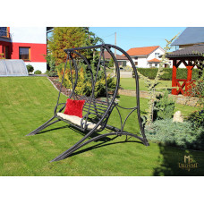 Wrought-iron swing – garden furniture (NBK-73)