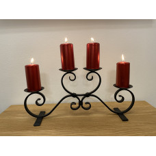 Advent forged candle holder – big black (SV/22)