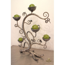 A wrought iron candle holder - A little shrub (SV/80)
