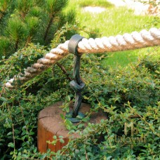 A wrought iron rope holder (DPK-120)