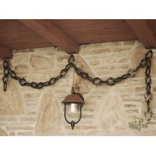 A wrought iron chain  (DPK-400)