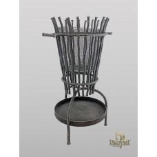 A wrought iron fire basket (DPK-500)
