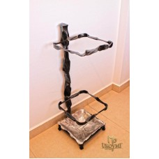 A wrought iron umbrella stand  (DPK-80)