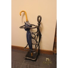 A wrought iron umbrella stand (DPK-81)