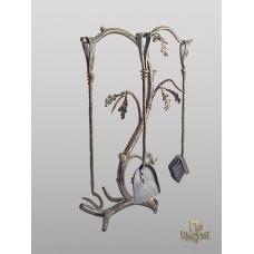 Fireplace tools Oak  (KK/12)