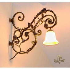 A wrought iron light Rose (SI0602)