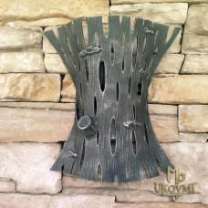 A wrought iron wall light Bark - KÔRA (LB-30)