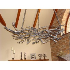 A wrought iron chandelier Root (SI0112)