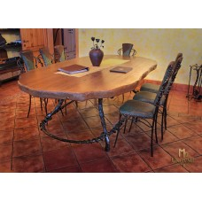 A wrought iron table - luxury furniture (NBK-105)