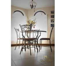 A wrought iron table (NBK-108)