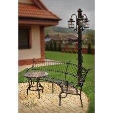 A wrought iron table (NBK-111)