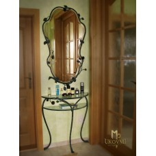 A wrought iron dressing table (NBK-113)