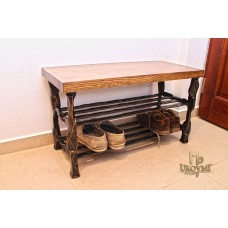 A wrought iron shoe rack (NBK-200)