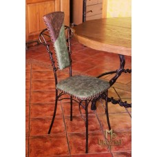 A wrought iron chair - luxury furniture (NBK-21)