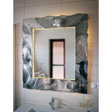 A stainless steel mirror  (NBK-305)