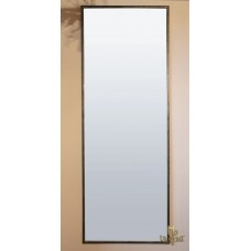 A metal mirror in industrial style – large version (NBK-309)