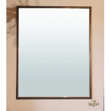 A metal mirror in industrial style – small version (NBK-310)