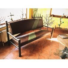 A wrought iron settee (NBK-50)