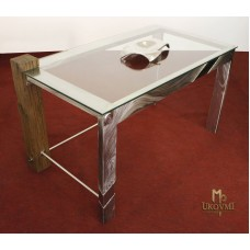 A stainless steel table - modern furniture (NBK-60)