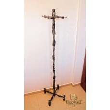 A wrought iron hanger - wrought-iron furniture (VC-2)