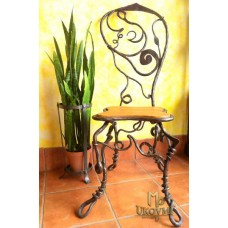 A wrought iron chair Root - luxury furniture (NBK-23)