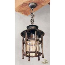 A wrought iron hanging light BABIČKA (SE5012)