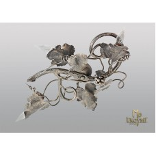 A wrought iron light Grapevine (SI0220)