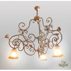 A wrought iron light Rustic (SI0615)