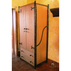A wrought iron cupboard with drawers  (SK-01)