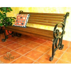 A wrought iron bench (SL-05)