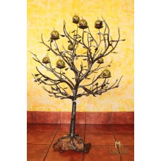 A wrought iron candle holder - Tree (SV/78)
