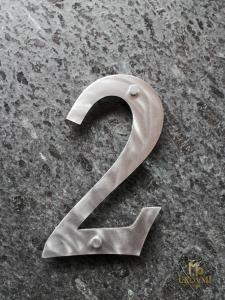 A stainless steel number (NC-02)