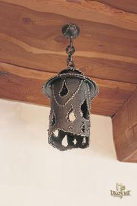 A wrought iron hanging light IDEAL -  (SI0900)